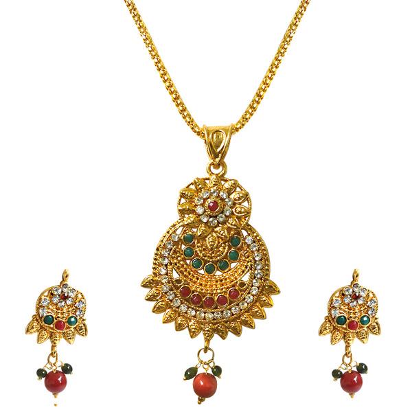 Pendant Necklace & Earrings Set