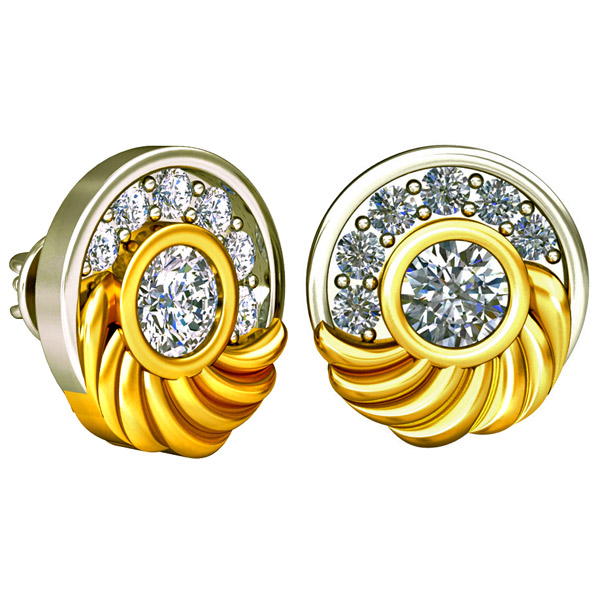Diamond Kudajodi Earrings