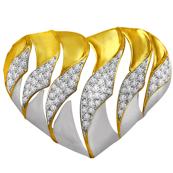 Diamond & Gold Beautiful Pendant