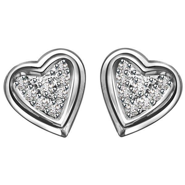 Sweetheart Diamond Earrings