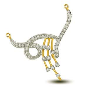 Diamond Pendants-Diamond Necklace Pendant