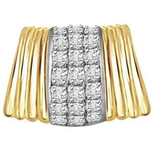Diamond Pendants-Stylish Diamond Pendant