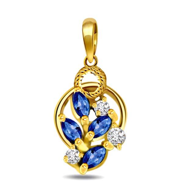 Magical Mantra Diamond Pendant