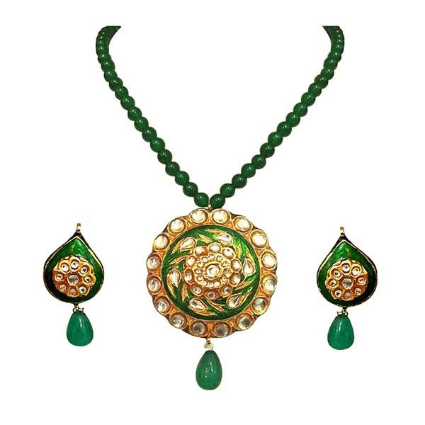 Traditional Necklace and Earrings Set