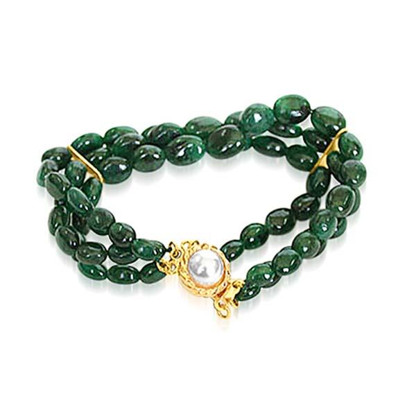 Pearl Ruby Bracelet