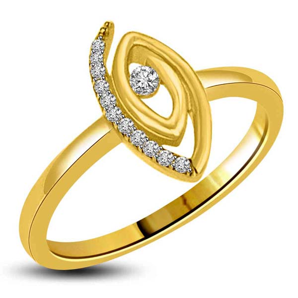 Gold & Diamond Designor Ring