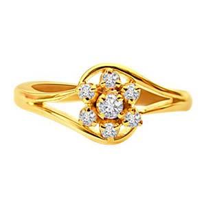 Diamond-Diamond Ring
