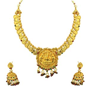 Traditional Necklace & Earrings Set