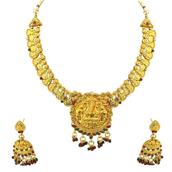 Bridal Sets-Traditional Necklace & Earrings Set
