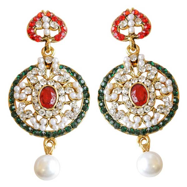 Round Shaped Chand Bali Earrings