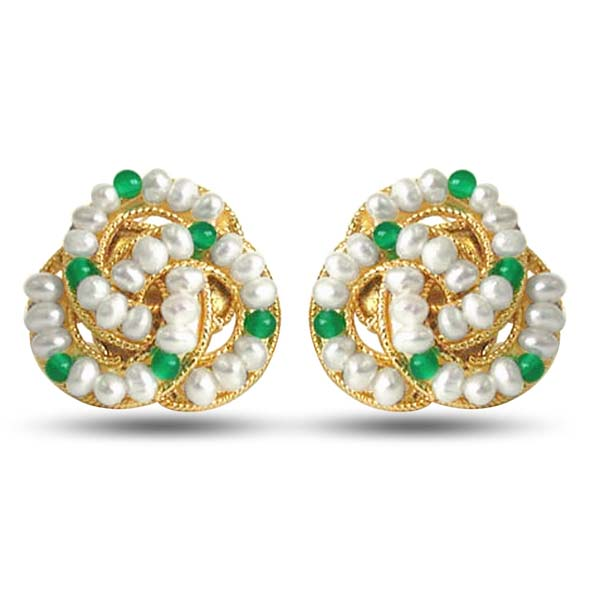 Green Fairy Queen Earrings