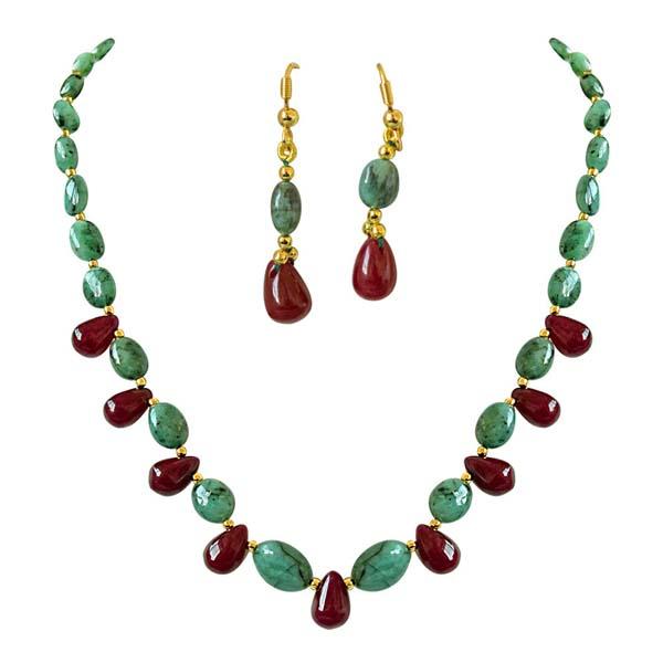 Gold Plated Earrings-Real Oval Dangling Earrings