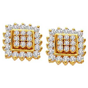 Diamond Earrings-Traditional Earrings