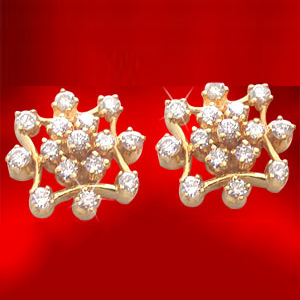 Diamond Earrings-Sitare