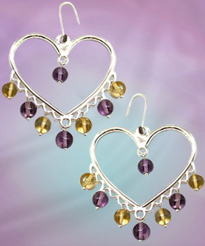 Citrin Charms And Amethyst Magic