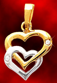 Twin Heart Pendant