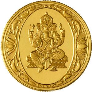 Ganesh Gold Coin