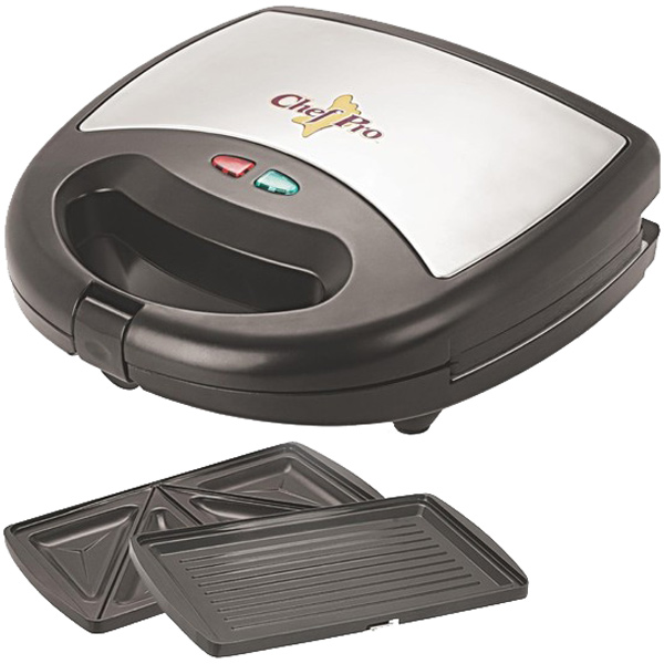 Sandwich Toaster-Chef Pro Sandwich Maker - CPS822