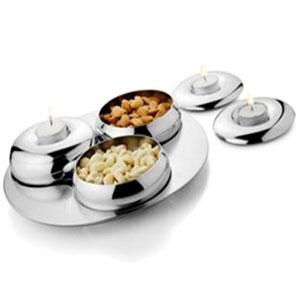Serving & Baking-Artec Three Bowls Condiment Set