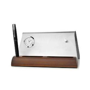 Artec Table Clock & Pen Stand with Planner
