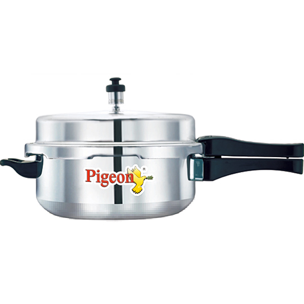 Pigeon Senior Aluminium Pressure Pan with Lid - 5 liters