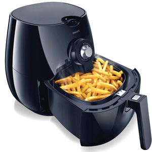 Food Maker-Philips Black Air Fryer - HD9220