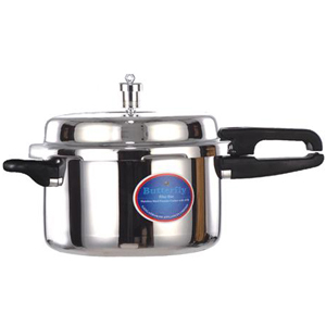 Cookers-Butterfly Stainless Steel Blueline Pressure Cooker