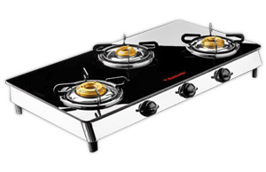 Butterfly Desire Auto Ignition Gas Stove - 3 Burners