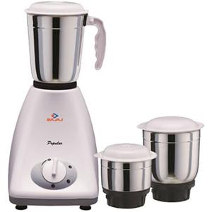 Mixers & Grinders-Bajaj Popular 3 Jars Mixer Grinder