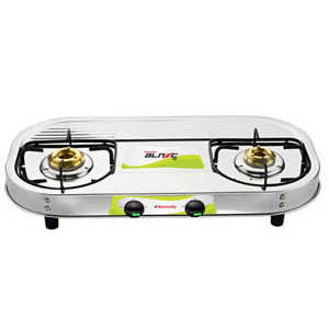 Butterfly Blaze Gas Stove - 2 Burners