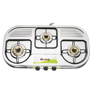 Butterfly Blaze Gas Stove - 3 Burners