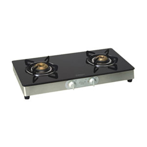 Gas Tops & Cook Tops-Sunflame Crystal gas stove - 2 Burners