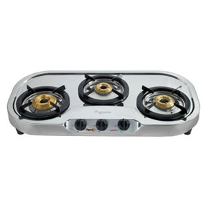 gas tops u0026 cook topspigeon 3 burners stainless steel gas stove 311