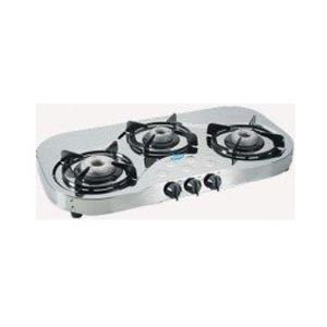 Glen 3 Burners Stainless Steel Gas Stove