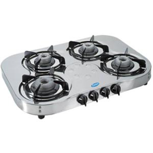 Glen 4 Burners Stainless Steel Gas Stove