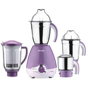 Preethi Lavender Pro Mixer Grinder - 4 Jars