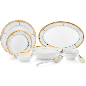 Dinner Sets-35 Pcs Porcelian Set