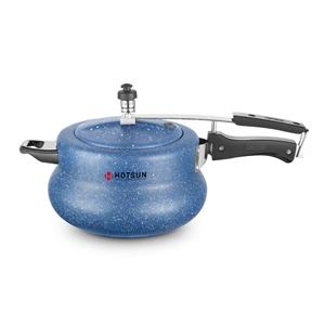 Cookers-Hotsun Handi Marble Pressure Cooker 3Ltr - Induction Base