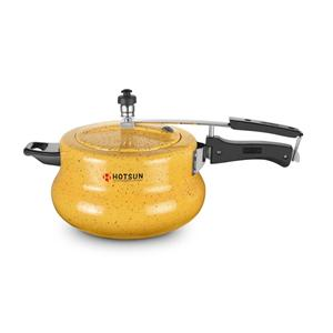 Cookers-Hotsun Handi Marble Pressure Cooker 5Ltr - Induction Base