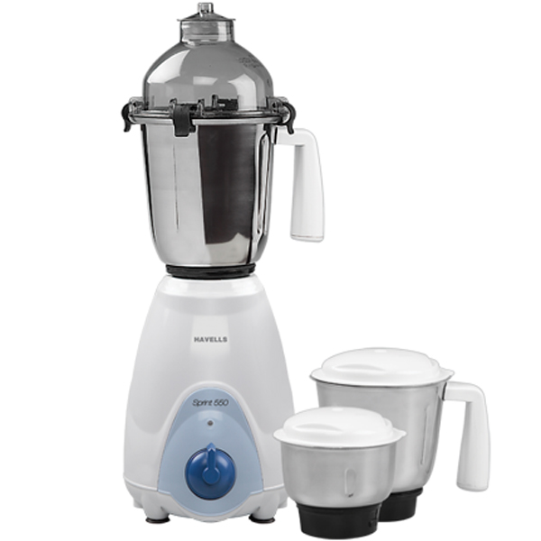 Havells Sprint 550 Mixer Grinder - 3 Jars