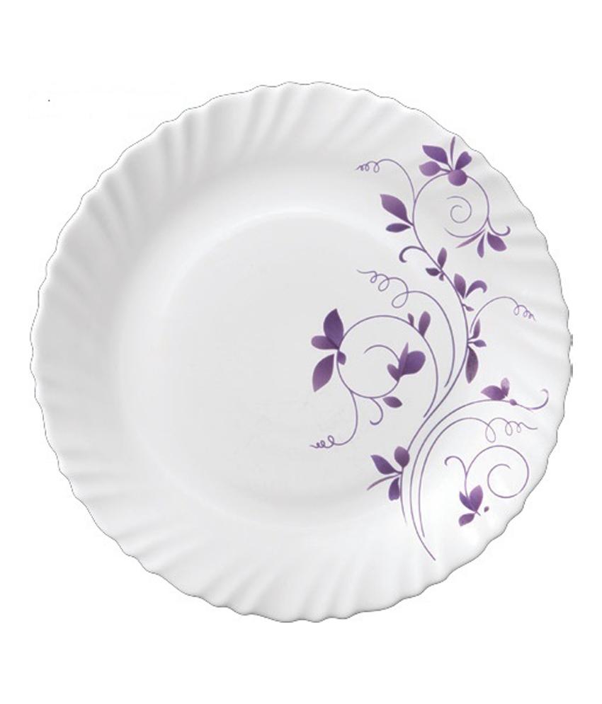 Classic Diva Dazzle Purple Dinner Set 35 Pcs