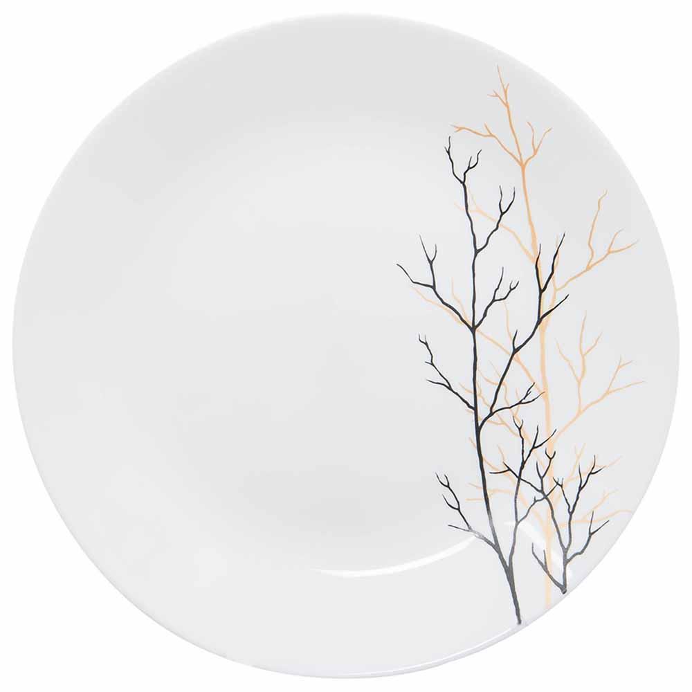 Ivory Dinner Set 35 Pcs (Golden Fall)
