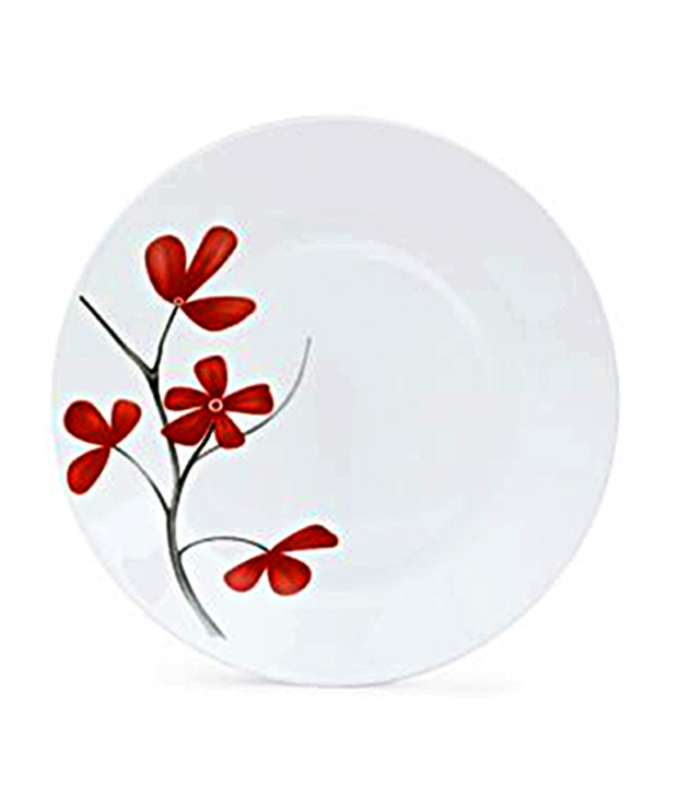 Ivory Dinner Set 35 Pcs (Cheery Petal)