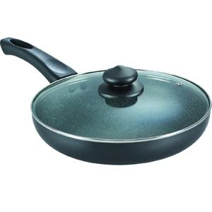 Prestige Omega Deluxe Granite Fry Pan with Lid