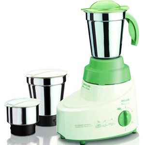 Mixers & Grinders-Philips Mixer Grinder with 3 Jars - HL1606/00