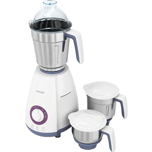 Mixers & Grinders-Philips Mixer Grinder with 3 Jars - HL7699