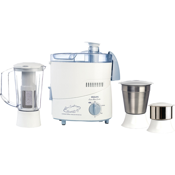 Philips Juicer Mixer Grinder with 3 Jars - HL1632