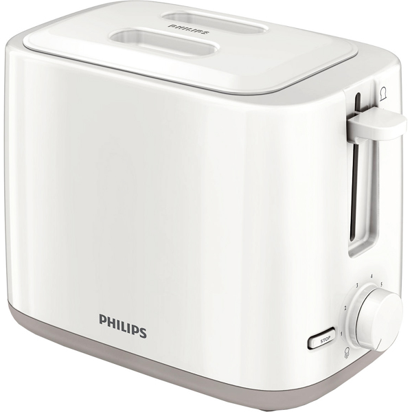 Philips Pop Up Toaster with Lid - HD2595