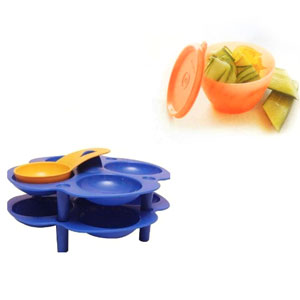 Tupperware Idli Tray Set