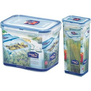 Lock & Lock Tall Storage Container - Set of 2